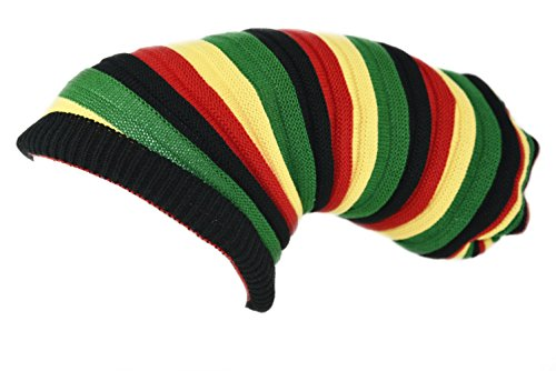 (SSK® Rasta Dread Knit Tam Hat -