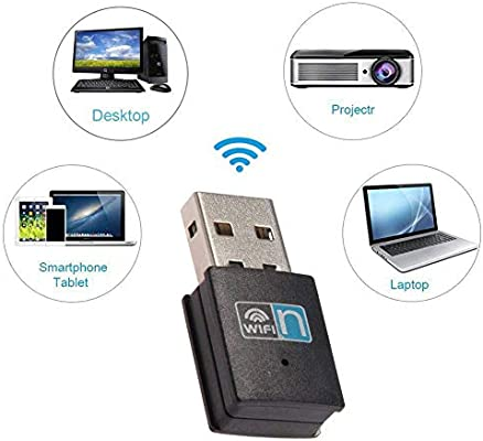 300Mbps Wireless USB Wi-fi Wlan Adapter 802.11 b//g//n Network LAN Dongle TEUS