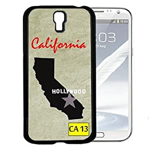 California State Tag Hard Snap On cell Phone Case Cover Samsung Galaxy S4 I9500 by icecream design