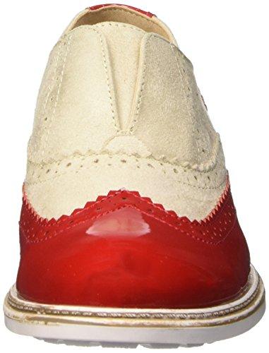 BATA 5195213, Mocasines para Mujer Rojo (Rosso)
