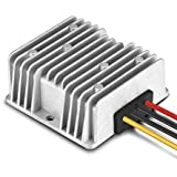 Yohii Waterproof DC/DC DC12V/24V Step Down to 6V 10A 60W Voltage Buck Converter Regulator Transformer Power Supply for Car Truck Vehicle CE Listed