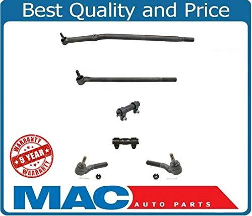 Mac Auto Parts 134354 F250 F250HD Drag Link & Tie Rod Rods 4X4 6Pc Twin I Beam Axles