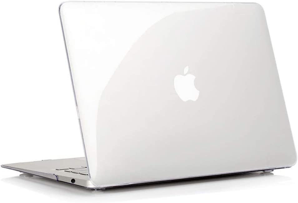 RUBAN MacBook 12 inch Case Release (A1534) - Slim Snap On Hard Shell Protective Cover for MacBook 12, Crystal Clear