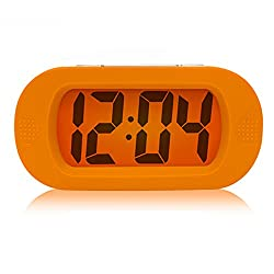 Ieasycan Stylish LED Display Smart Snooze Alarm Clock Voice Recording Touch Button with Cold LED Backlight Home Decor