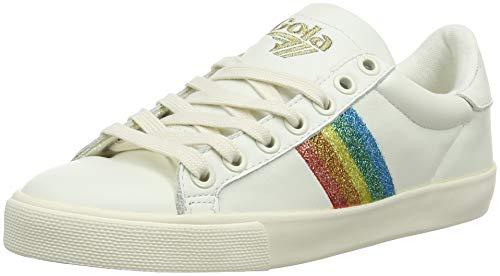 mult Rainbow Sneaker Orchid Off Glitter wht o Ow Donna Gola white fpHqwx56z