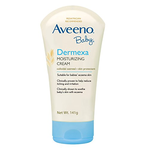 艾惟诺Aveeno Baby Eczema Therapy Moisturizing Cream For Dry Skin, 5 Oz婴儿湿疹治疗保湿霜