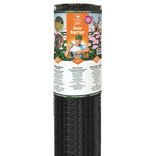 Easy Gardener LG400171 7-by-100-Foot Deer Barrier Fencing, 7 ft x 100 ft - Plastic Fencing