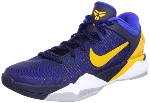 2b3e2b843b78 NIKE Zoom Kobe VII 7 System Obsidian Yellow WBF Mens Basketball Shoes 488371 -404 - Buy Online in KSA. Shoes products in Saudi Arabia.