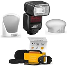 Nikon SB-5000 AF Speedlight - Bundle With MagMod Basic Flash Modifier Kit, Includes MagGrip, MagGrid 2, MagGel 2 Kit, MagMod MagSphere/MagMod MagBounce for Flash ModiModifier System