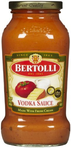 Bertolli Vodka Sauce, 24 Ounce Jar - Pack of 4