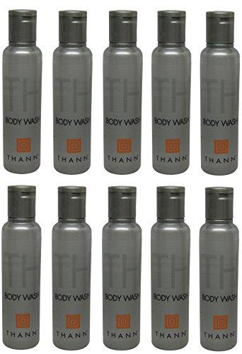 Thann Body Wash lot of 10ea 1.25oz Bottles. Total of 12.5oz
