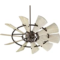 Quorum International Windmill 52 Fan in Oiled Bronze