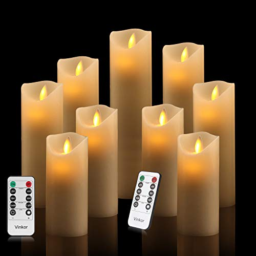 Vinkor Flameless Candles Flickering Decorative product image