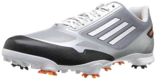 adidas Mens adizero one Golf Shoe Tech Grey Metallic/Zest/White 1lr9Y