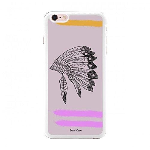 Coque + Verre Trempé pour iPhone 6 Plus / 6S Plus SmartCase® PINK INDIAN