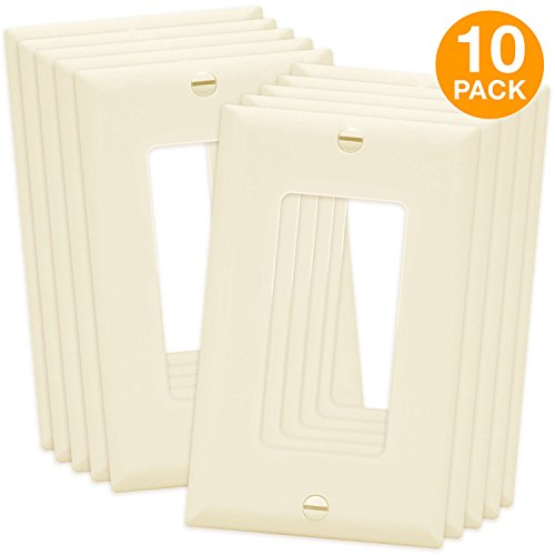ENERLITES Decorator Light Switch/Receptacle Outlet Wall Plat