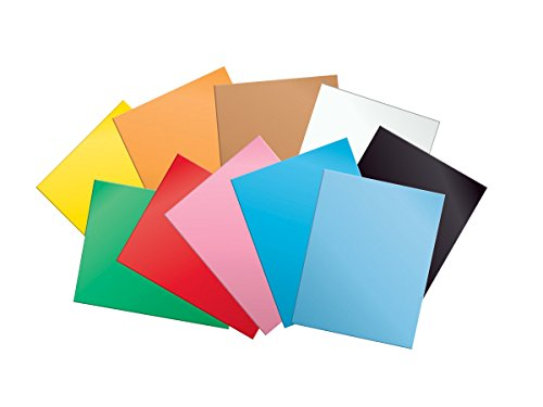 School Smart 145 pound Tagboard - 22 x 28 - Pack of 100 - Assorted Colors by School Smart