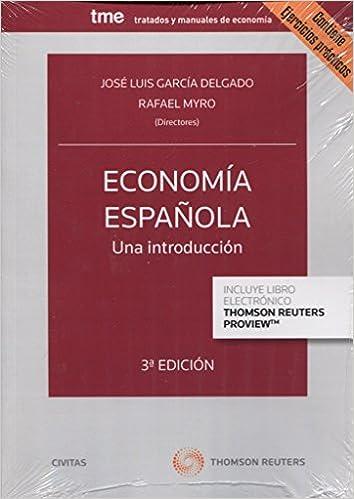 Descargar PDF Gratis Economía española. Una introducción (Tratados y Manuales de Economía)