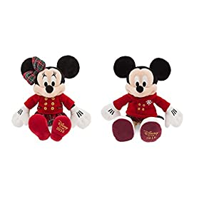Disney Store 2016 Holiday Mickey & Minnie Mouse Plush Dolls - 41IXUkX13WL - Disney Store 2016 Holiday Mickey & Minnie Mouse Plush Dolls