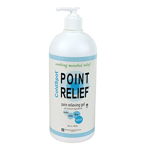 Point-Relief 11-0711-1 ColdSpot Lotion, Gel Pump, 32 (Gel 32 Oz Pump Bottle)