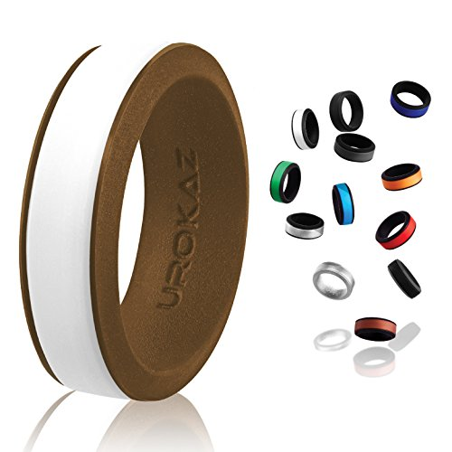 UROKAZ Silicone Wedding Ring, The Only Ring that Fits Your Lifestyle – Whether You are Single or Married, Ring is Right for You – It is Fashionable, Flexible, and Comfortable Review