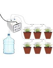 Intelligent bewateringssysteem, druppelbewateringssysteem met intelligente wifi-bediening, automatisch bewateringssysteem met dubbele pomp, met timer voor de irrigatie in de tuin