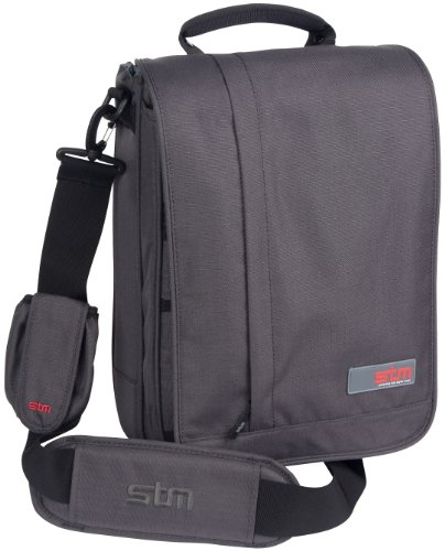 STM BAGS  Alley Small Shoulder Bag for 13 inch Screens ( Carbon )