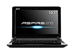 Acer AO532h-2223 10.1-Inch Matrix Silver Netbook - Up to 8 Hours of Battery Life
