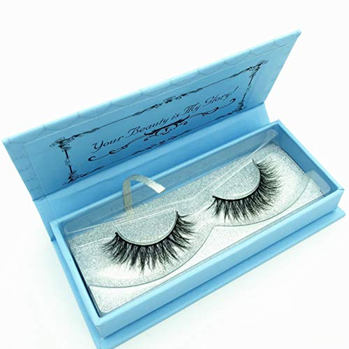 542b9409952 Miss Kiss 3D Mink Lashes Reusable Strip,100% Siberian Mink Fur - Import It  All