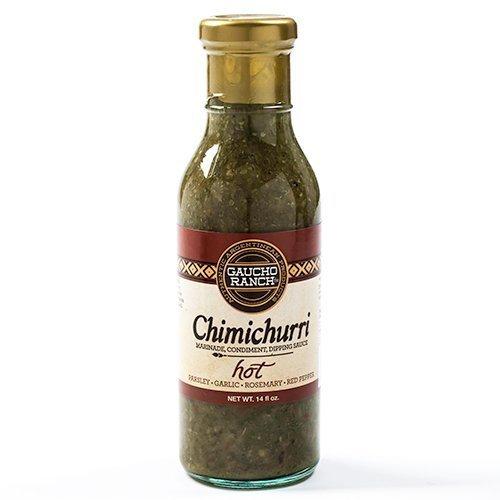 Gauco Ranch Hot Chimichurri Sauce - 12.5 ounce by Gaucho Ranch