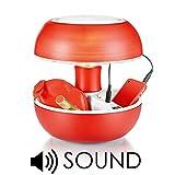 Novità Lampada Vivida Joyo Sound Lightcolors rosso