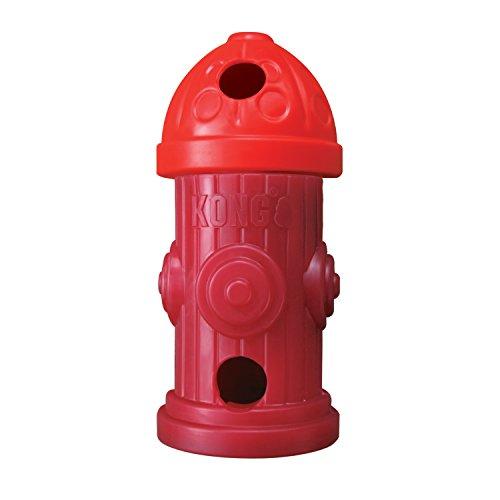 KONG clicks Hydrant Dog Toy, Medium/Large ()