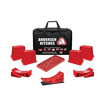 Image of Andersen Hitches 3630 - Ultimate Trailer Gear Super EZ Bag Chocks & Blocks