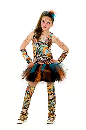 Princess Paradise Graffiti Costume, Tween Medium