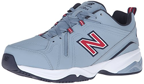 New Balance Hombres Mx608v4 Zapatillas De Entrenamiento Lead / Blood Sport Red