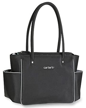 Amazon.com: Carter de mini – Bolso cambiador, color negro: Baby