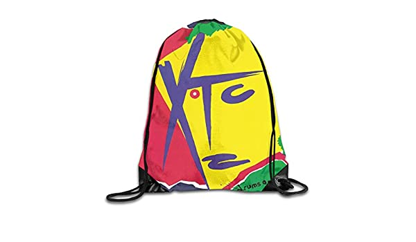 3566a53051c6 Amazon.com: AlexisW XTC Drums and Wires Backpack Gymsack Drawstring ...
