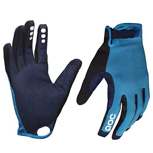 POC Resistance Enduro Adjustable Glove, Mountain Biking Gloves, Furfural Blue, L ()