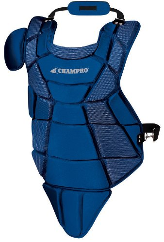 Champro Senior Little League Chest Protector (Royal, 16.5-Inch ()