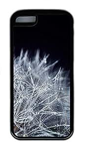 iPhone 5c Case Unique Cool iPhone 5c TPU Black Cases Dandelion Seeds Macro Design Your Own iPhone 5c Case