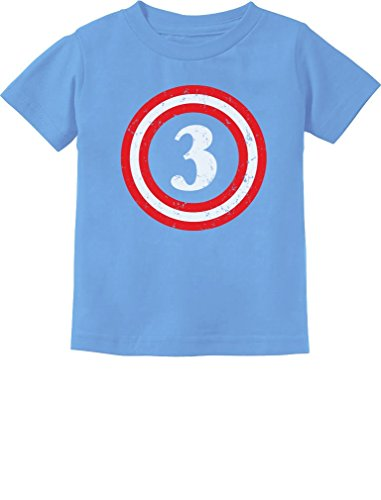 49114f9c2 Captain 3rd Birthday – Gift for Three Years Old Toddler/Infant Kids T-Shirt