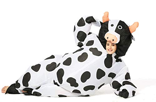 GOPRIME Halloween Inflatable Costumes (Cow Adult) -