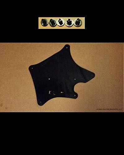 Fender Liner, Apron, Shield, Splash Guard, Skirt, Guard, Seal, Splash Seal Yota Liners Set of Four Splash Shields with Clips for Lexus GX460 /& GX470 2003-2018 G
