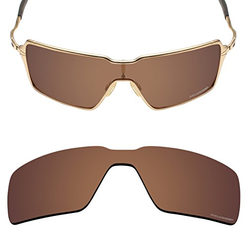 Mryok+ Polarized Replacement Lenses for Oakley Probation - Bronze - Probation Sunglasses