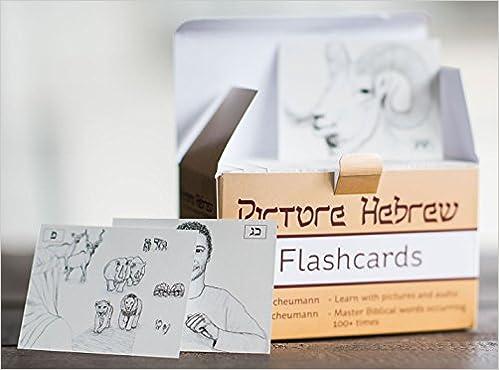 Picture Hebrew Flashcards: Jesse R  Scheumann, Merissa