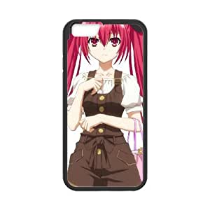 Date A Live iPhone 6 Plus 5.5 Inch Cell Phone Case Black TPU Phone Case SV_166690