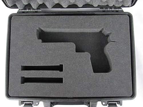 Pelican Case 1470 Custom Foam Insert for Desert Eagle Handgun (Foam ONLY)