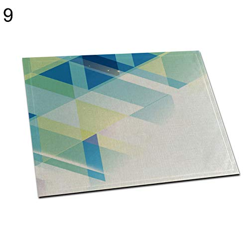 Maserfaliw Placemat Star Triangle Dot Lip Design Heat Insulation Pad Dining Table Mat Placemat Decor - 9#
