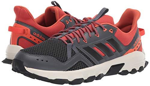new design dirt cheap online here adidas Running Men's Rockadia Trail Grey Six/Black/Raw Amber 12 D US