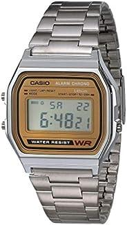 Casio A158WA-1R Reloj Digital, Cuadrado